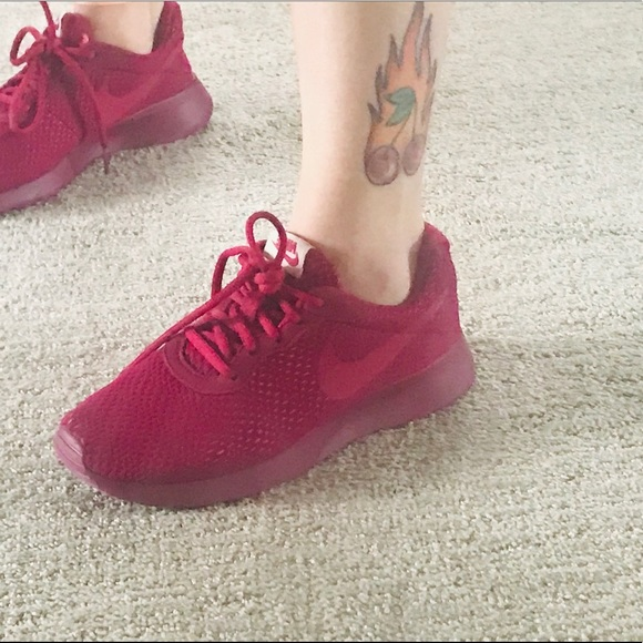 Nike Shoes | Burgundy Red Sneakers